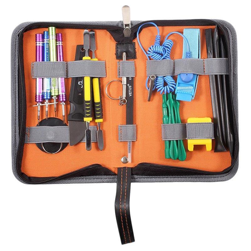 19-in-1 Mehrzweck-Professionel-Öffnungswerkzeug-Set