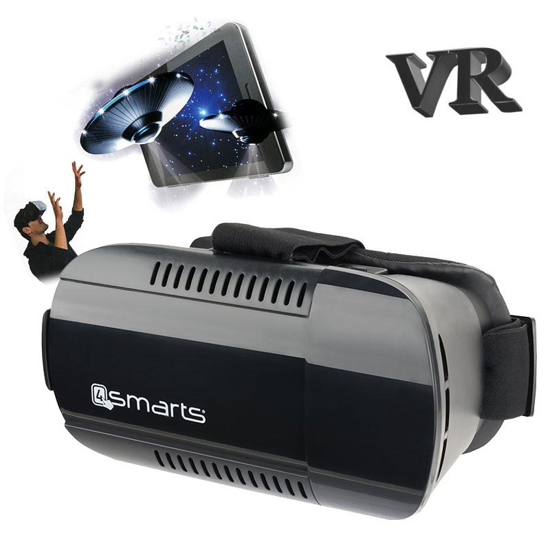 4smarts Spectator Plus Universal Virtual Reality-Brille - Schwarz