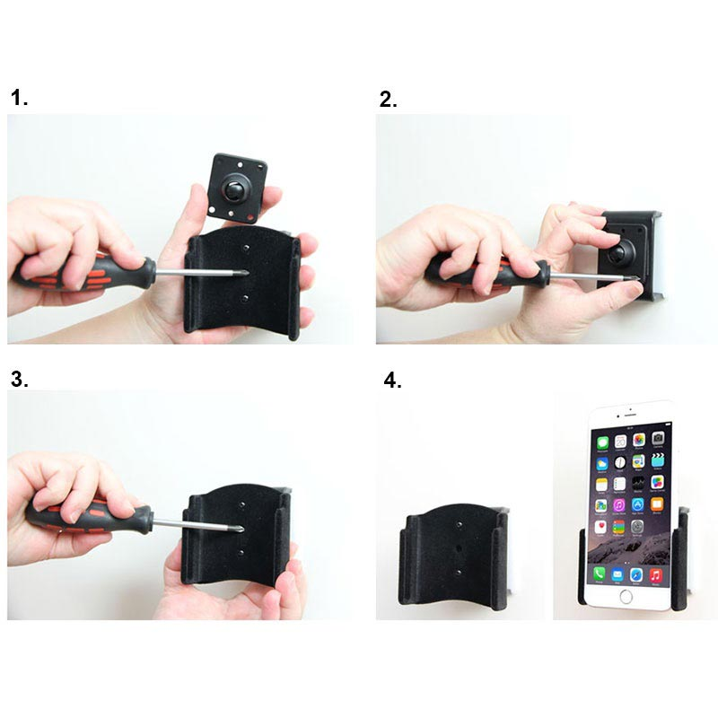 Brodit Halter Passiv Apple iPhone XS Max // 8 Plus // 7 Plus 511804