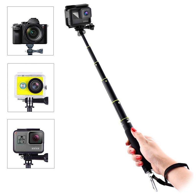 Gopro Hero Amp Action Kameras Selfie Stick Schwarz