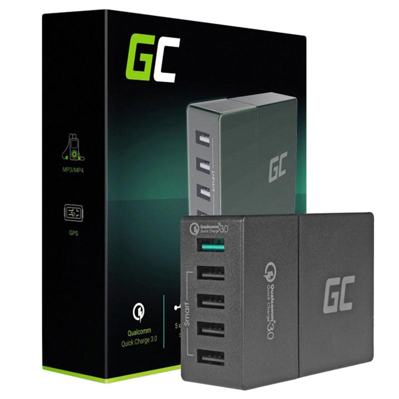 Green Cell QC3.0 Multiport USB Schnell Dockingstation - 52W
