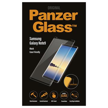 PanzerGlass Case Friendly Samsung Galaxy Note9 Panzerglas - Schwarz