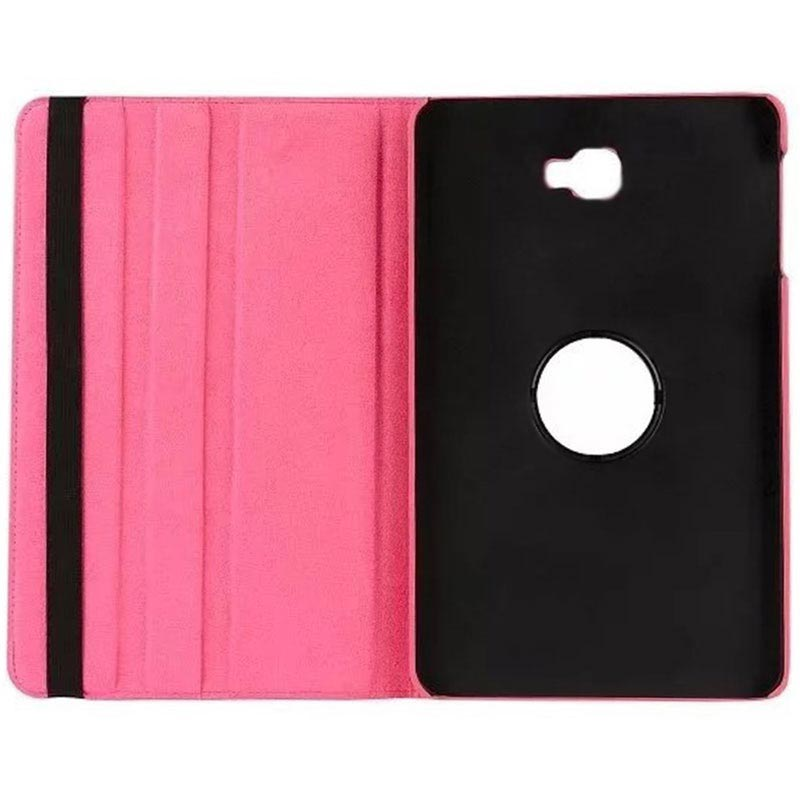 Samsung Galaxy Tab A 10.1 (2016) T580, T585 Rotierend Case - Hot Pink