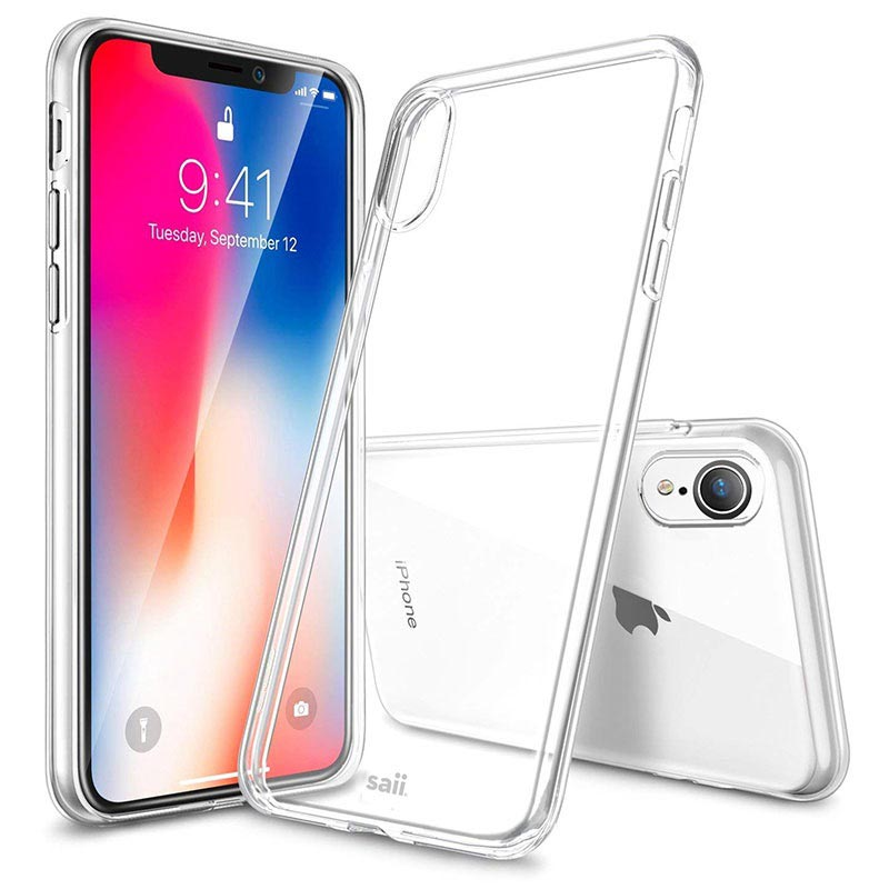 Saii Premium Anti-Rutsch iPhone XR TPU Hülle
