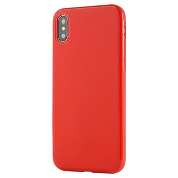 iPhone X / iPhone XS Sulada Slim Magnetisches TPU Hülle - Rot
