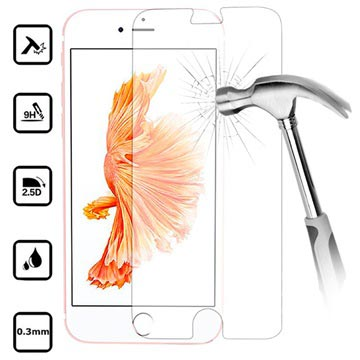 iPhone 7 / iPhone 8 Panzerglas - 9H, 0.3mm - Kristall Klar