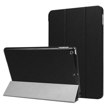 iPad 9.7 2017/2018 Tri-Fold Smart Folio Case - Schwarz