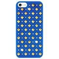 iPhone 5 / 5S / SE Puro Rock Round and Square Studs Hülle - Blau