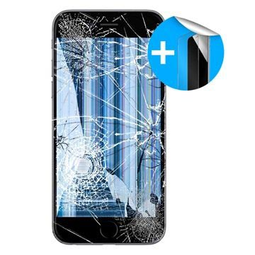iPhone 6 LCD Display Reparatur und Displayschutz - Schwarz