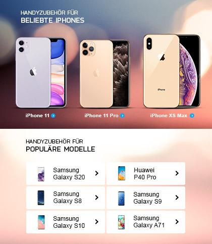 Handyzubehör und Handyhüllen bei MeinTrendyHandy kaufen